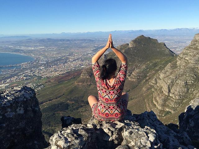 meditace na horách