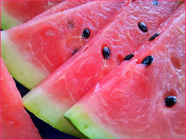 porcovaný meloun