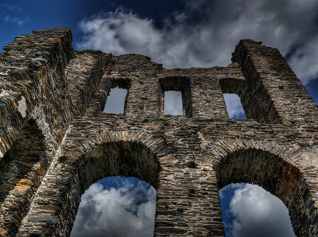 zbytek hradu